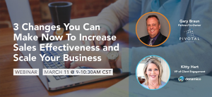Join us for a deep dive into strategies that breathe new life into a sales pipeline and bottom line