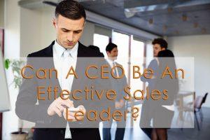 CEO effective Sales Leader Pivotal Advisors