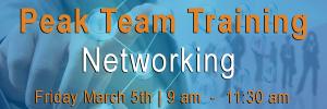 Peak Sales training event