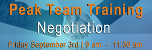 Sales team training on negotiation