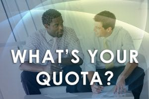 Sales Quota – Is It Time To Change In This Crisis?