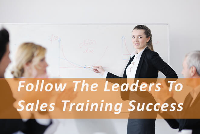 Follow the dales leaders to sales success