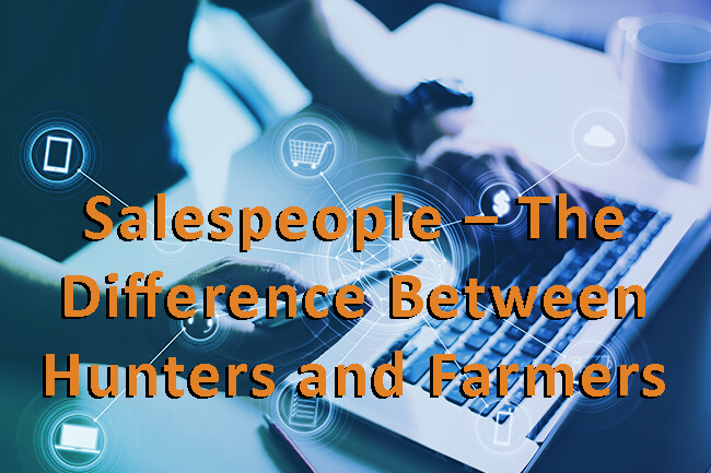 difference between hunters and farmers