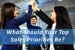 Top Sales Priorities Pivotal Advisors