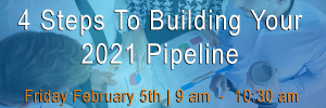 $ steps to build your 2021 pipeline event