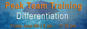 Sales team training on Differentiation