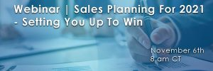sales planning for 2021 win big